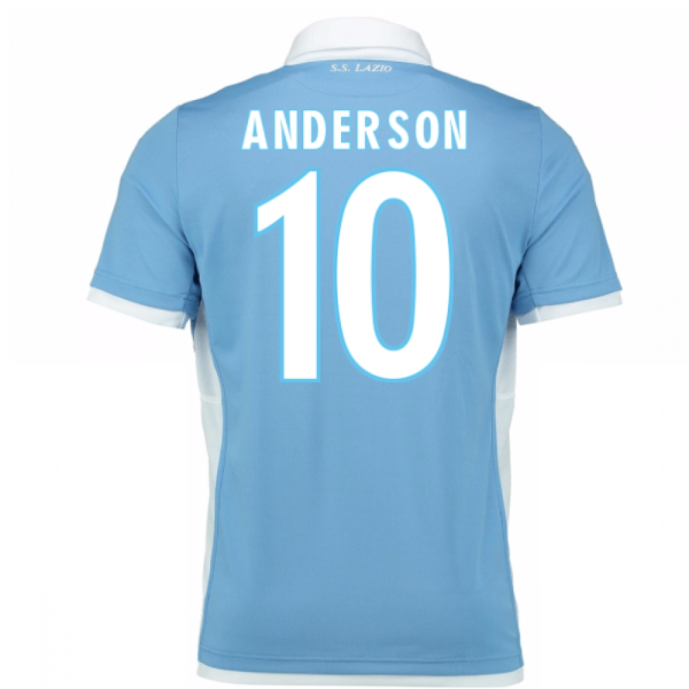 2016-17 Lazio Home Shirt (Anderson 10)