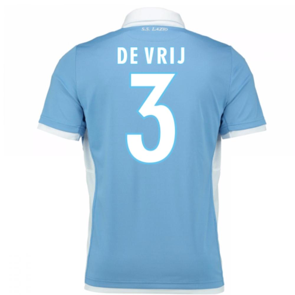 2016-17 Lazio Home Shirt (De Vrij 3)
