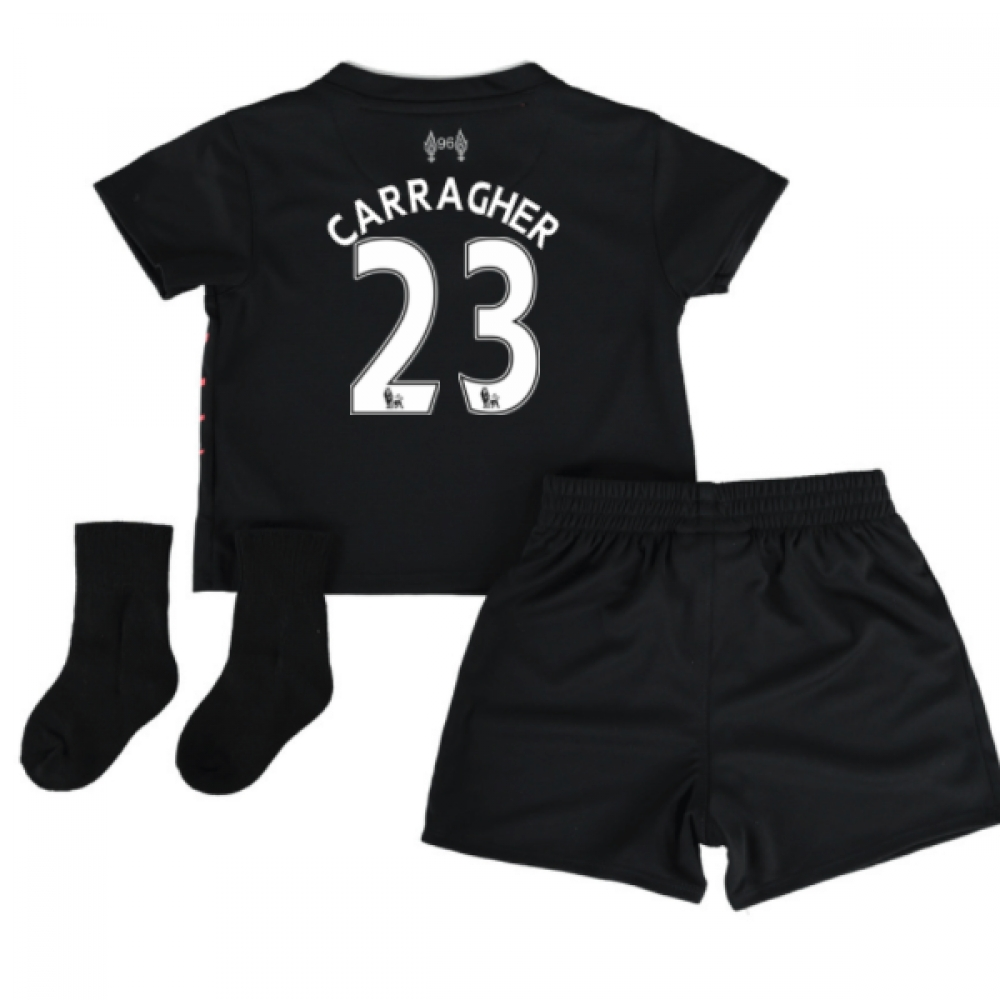 2016-17 Liverpool Away Baby Kit (Carragher 23)