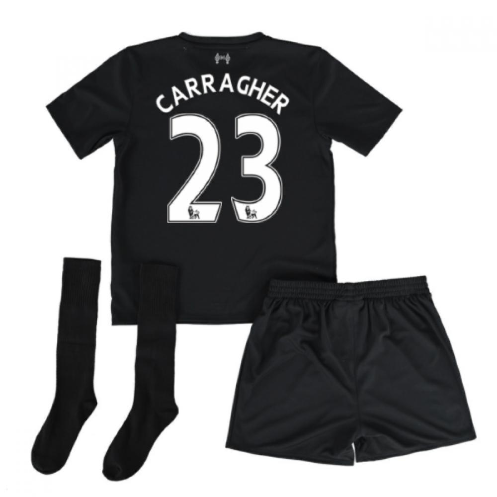 2016-17 Liverpool Away Mini Kit (Carragher 23)