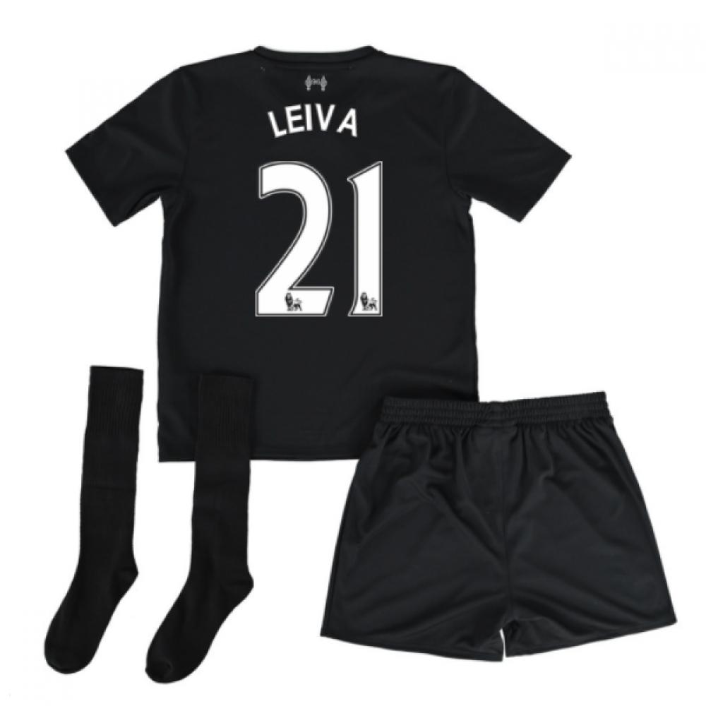 2016-17 Liverpool Away Mini Kit (Leiva 21)