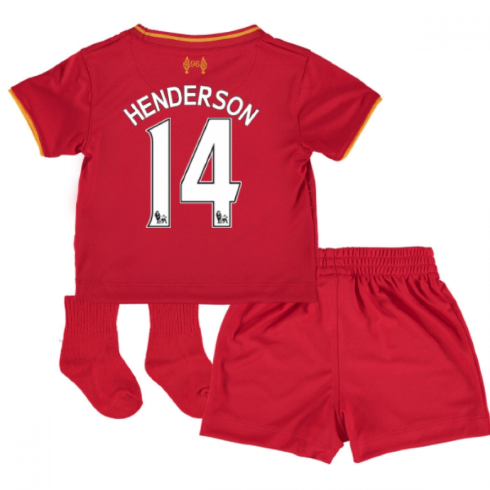 2016-17 Liverpool Home Baby Kit (Henderson 14)