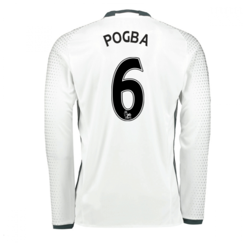 2016-17 Man United Third Shirt (Pogba 6)