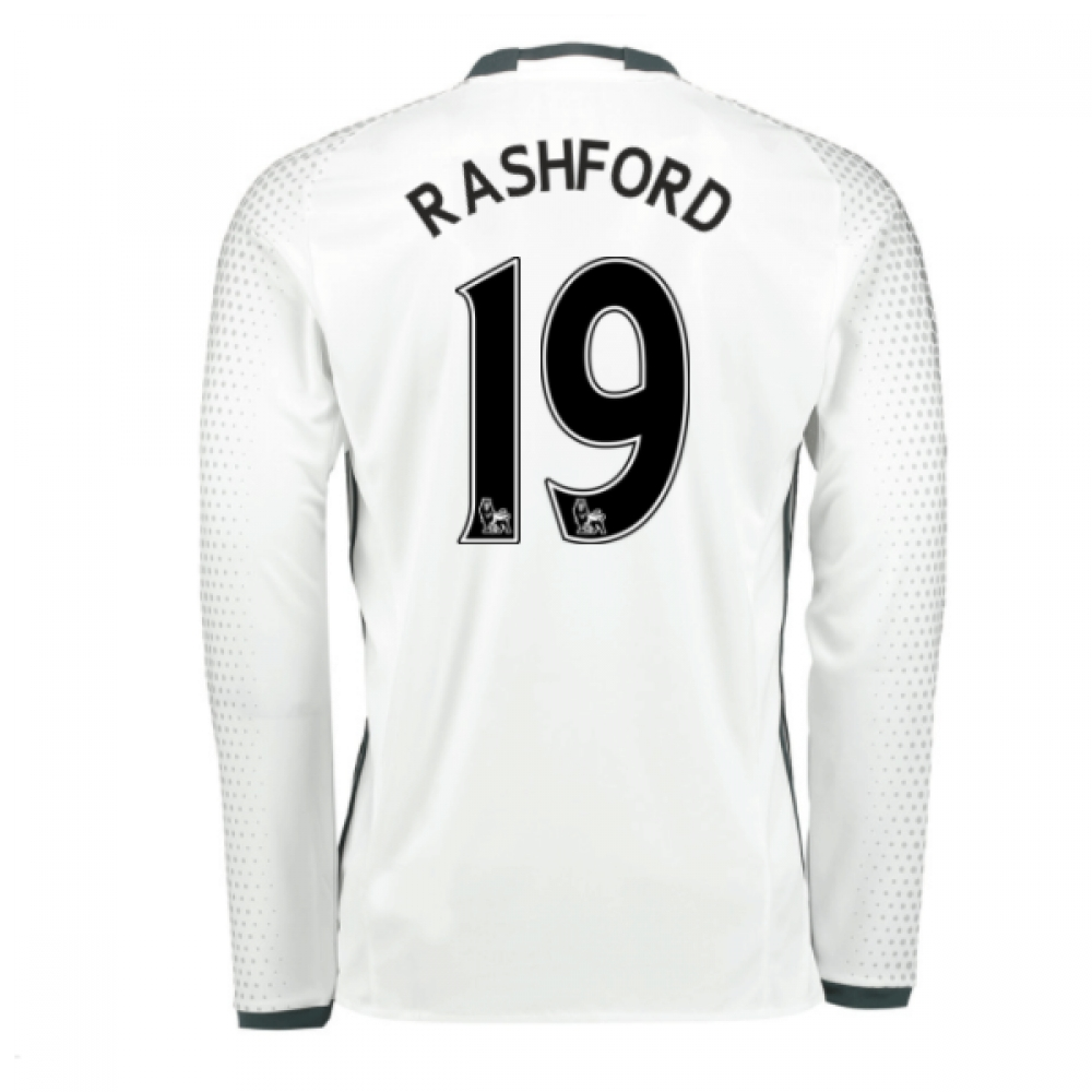 2016-17 Man United Third Shirt (Rashford 19)