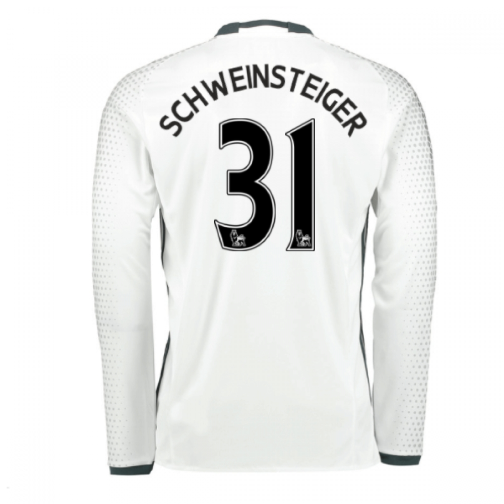 2016-17 Man United Third Shirt (Schweinsteiger 31)