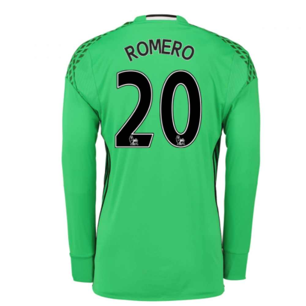 romero s shirt Sergio germán romero is an argentine professional footballer who plays as a  goalkeeper for  upon joining the club, romero was given the number 20 shirt,  saying: there was a misunderstanding between myself and the manager, van.