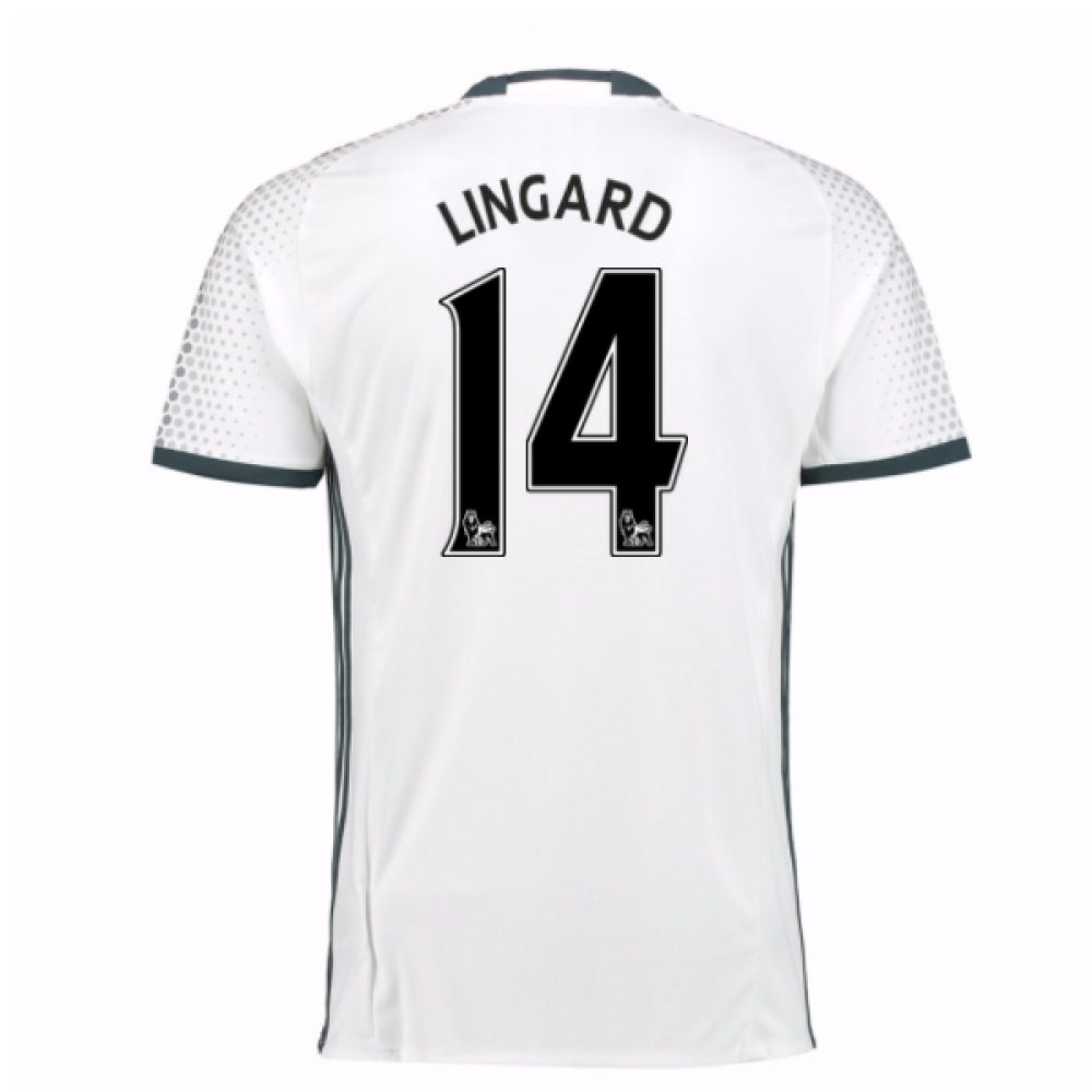 2016-17 Man Utd Third Shirt (Lingard 14) - Kids