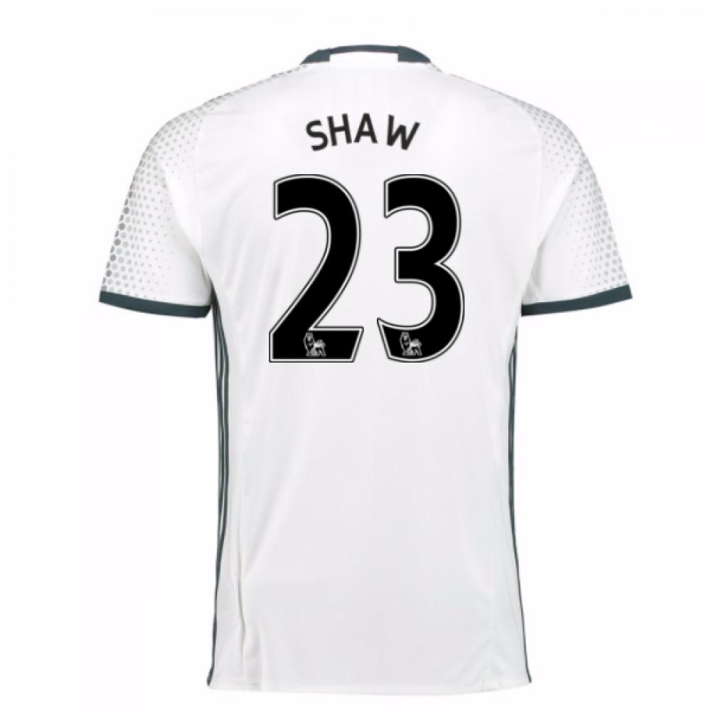 2016-17 Man Utd Third Shirt (Shaw 23)