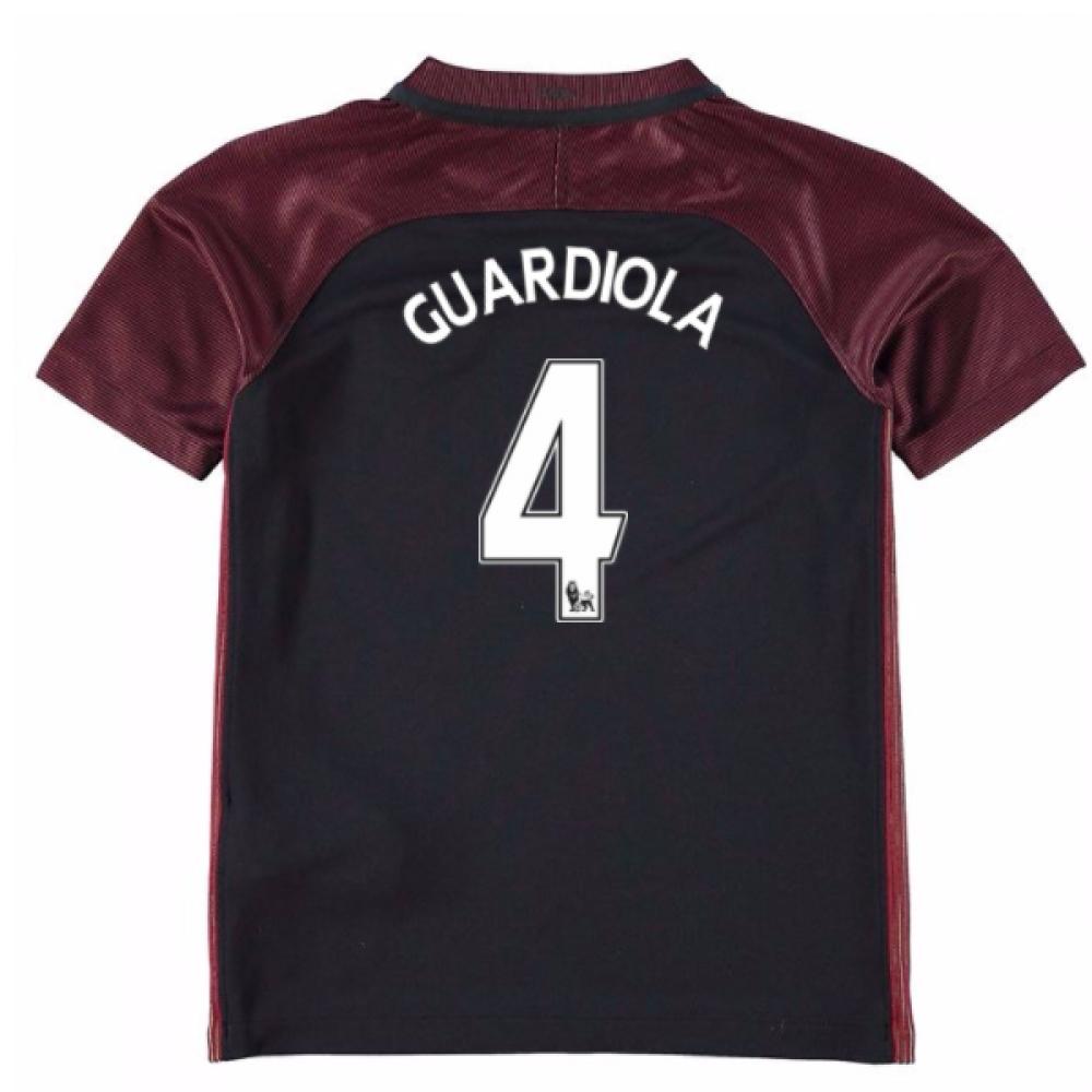 2016-17 Manchester City Away Mini Kit (Guardiola 4)