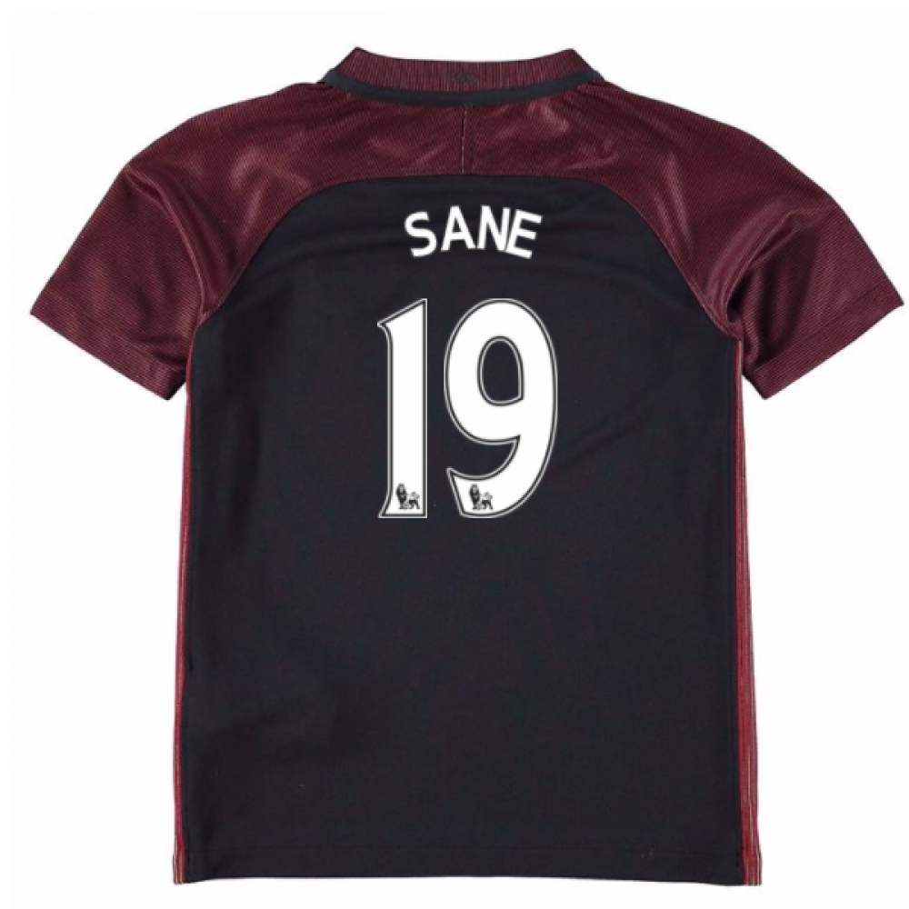 2016-17 Manchester City Away Mini Kit (Sane 19)