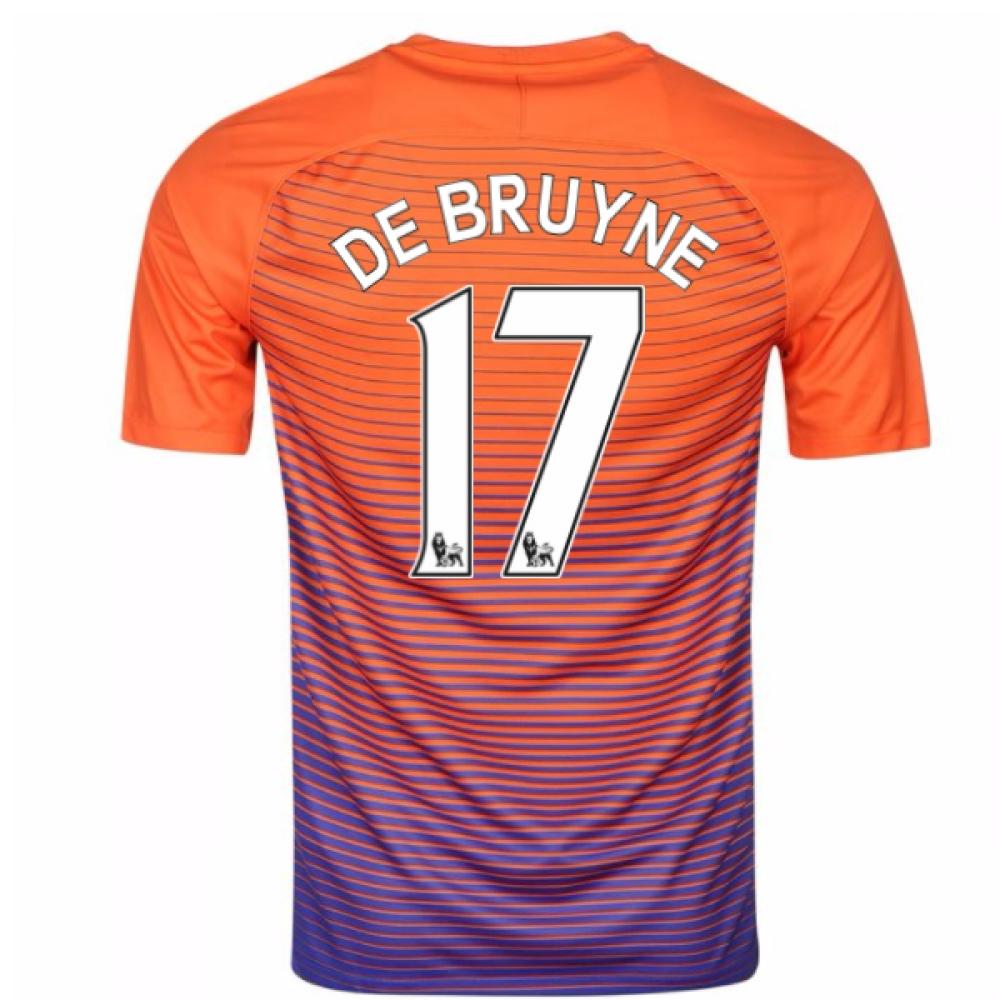 2016-17 Manchester City Third Shirt (De Bruyne 17)