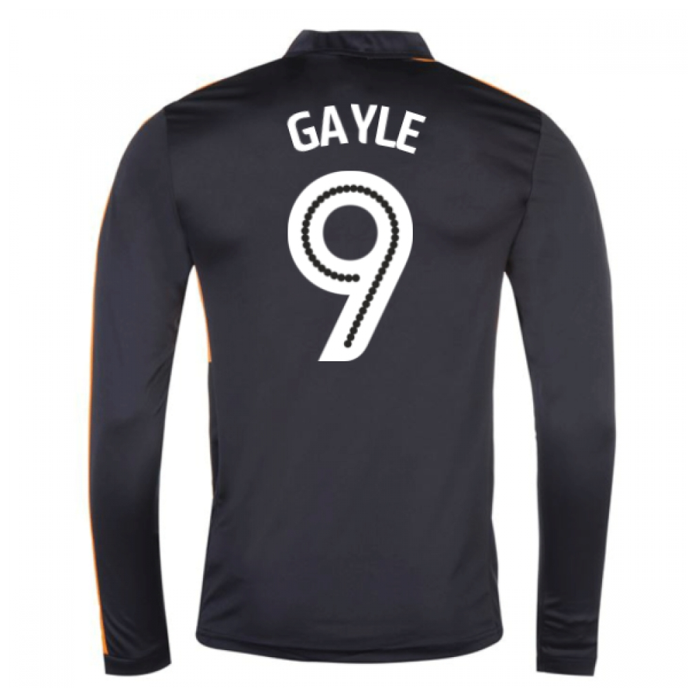 2016-17 Newcastle Away Long Sleeve Shirt (Gayle 9)