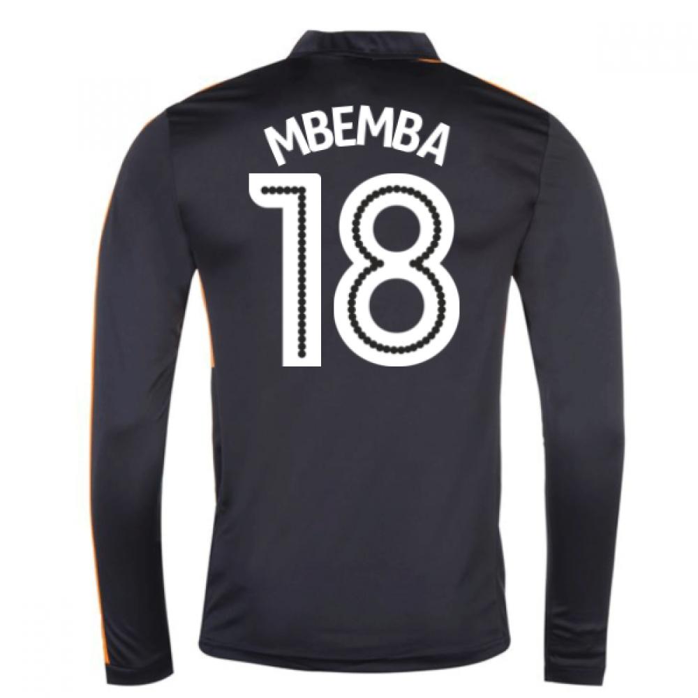2016-17 Newcastle Away Long Sleeve Shirt (Mbemba 18)