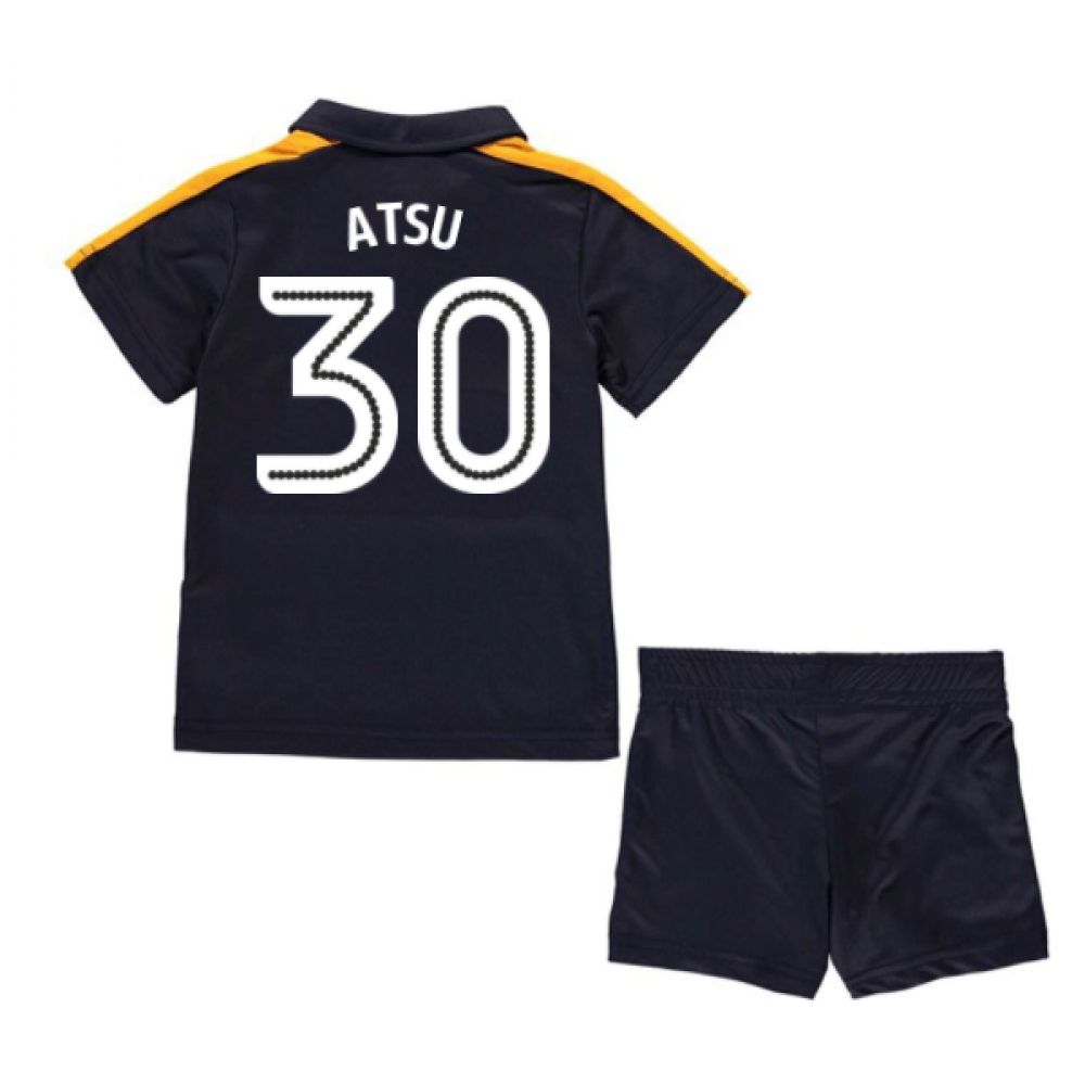 2016-17 Newcastle Away Mini Kit (Atsu 30)