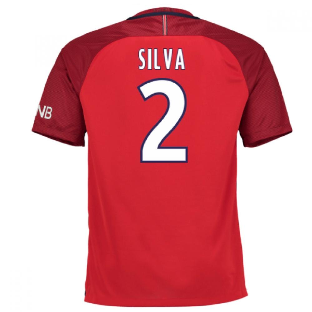 2016-17 PSG Away Shirt (Silva 2)