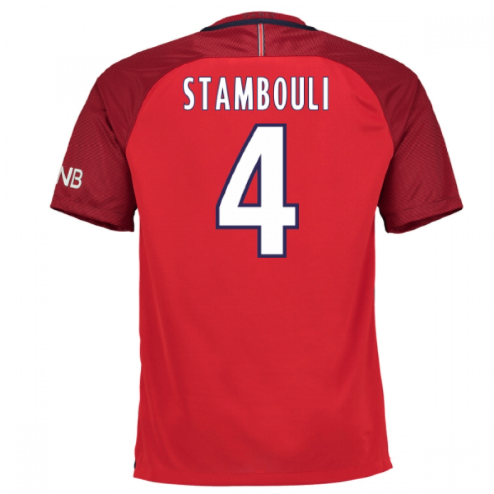 2016-17 PSG Away Shirt (Stambouli 4)