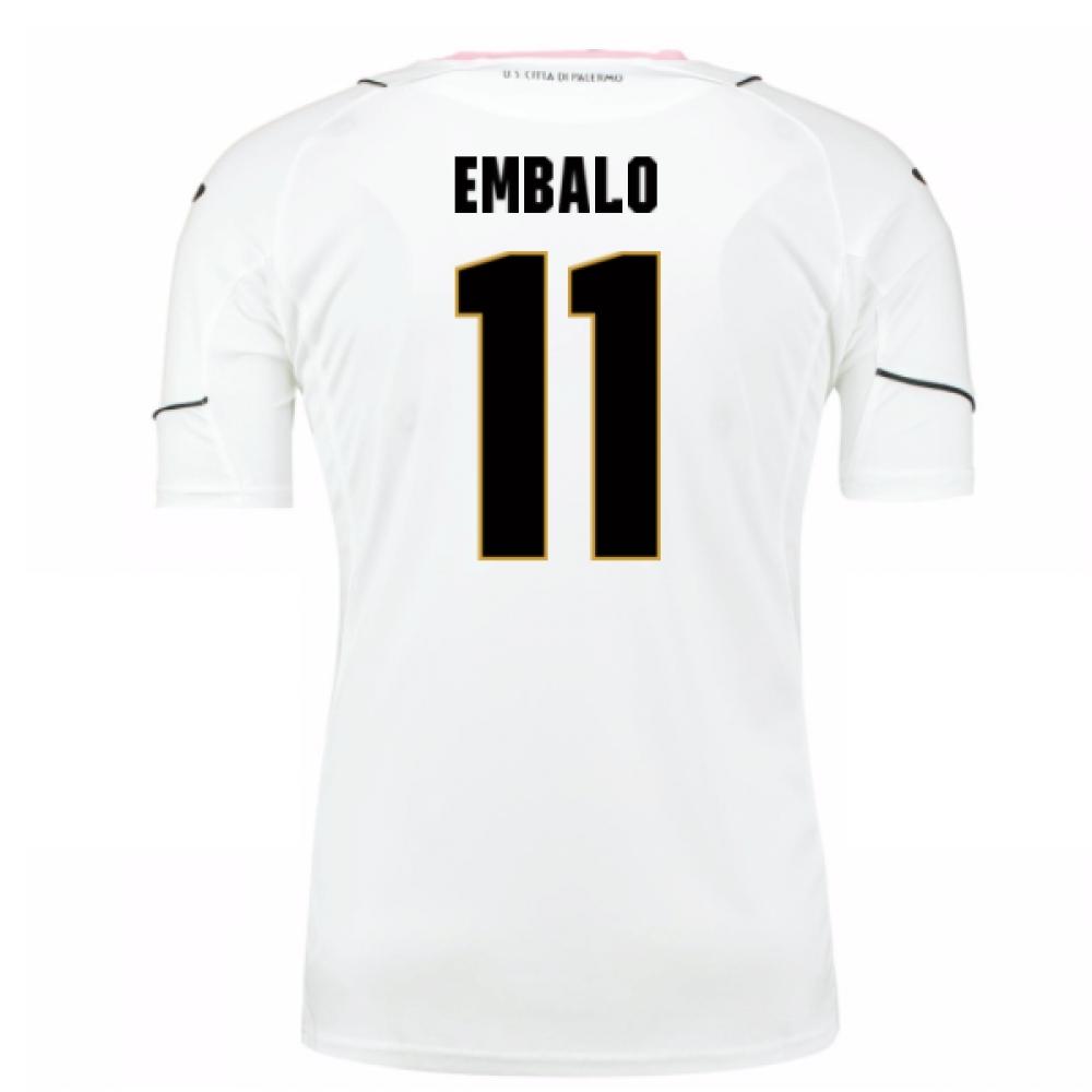 2016-17 Palermo Away Shirt (Embalo 11)