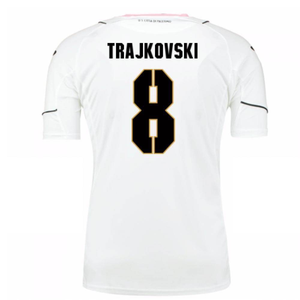 2016-17 Palermo Away Shirt (Trajkovski 8)