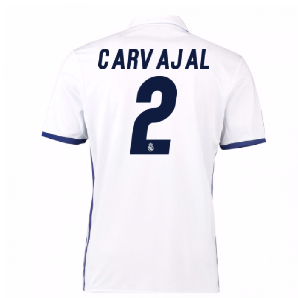 2016-17 Real Madrid Home Shirt (Carvajal 2)