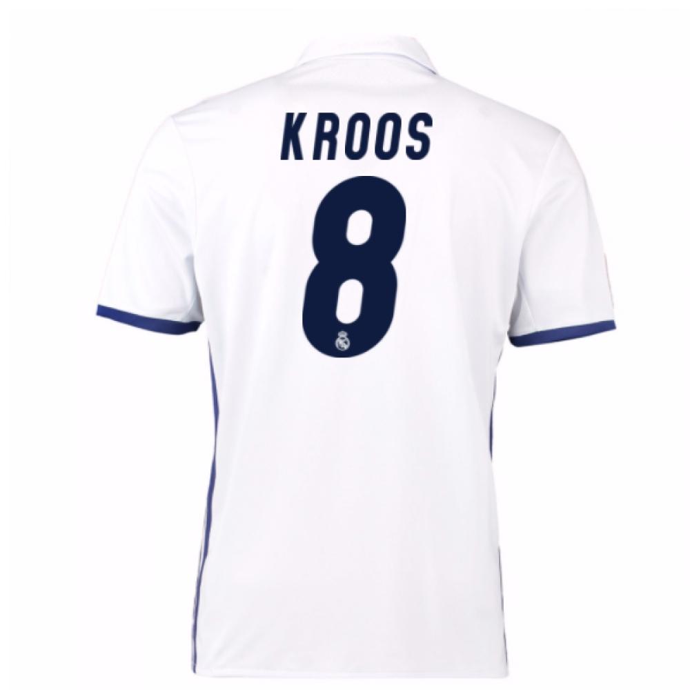 2016-17 Real Madrid Home Shirt (Kroos 8)