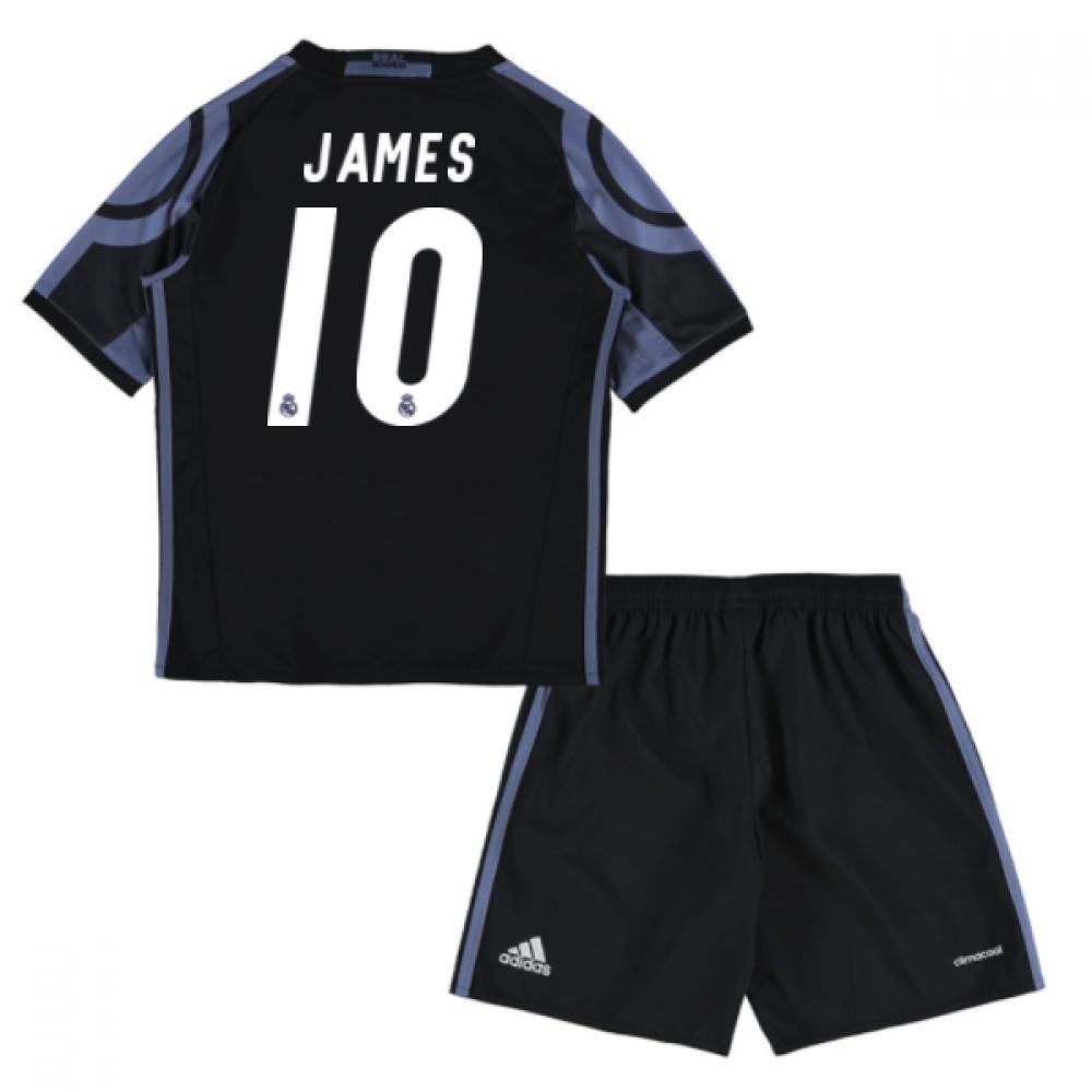 2016-17 Real Madrid Third Mini Kit (James 10)