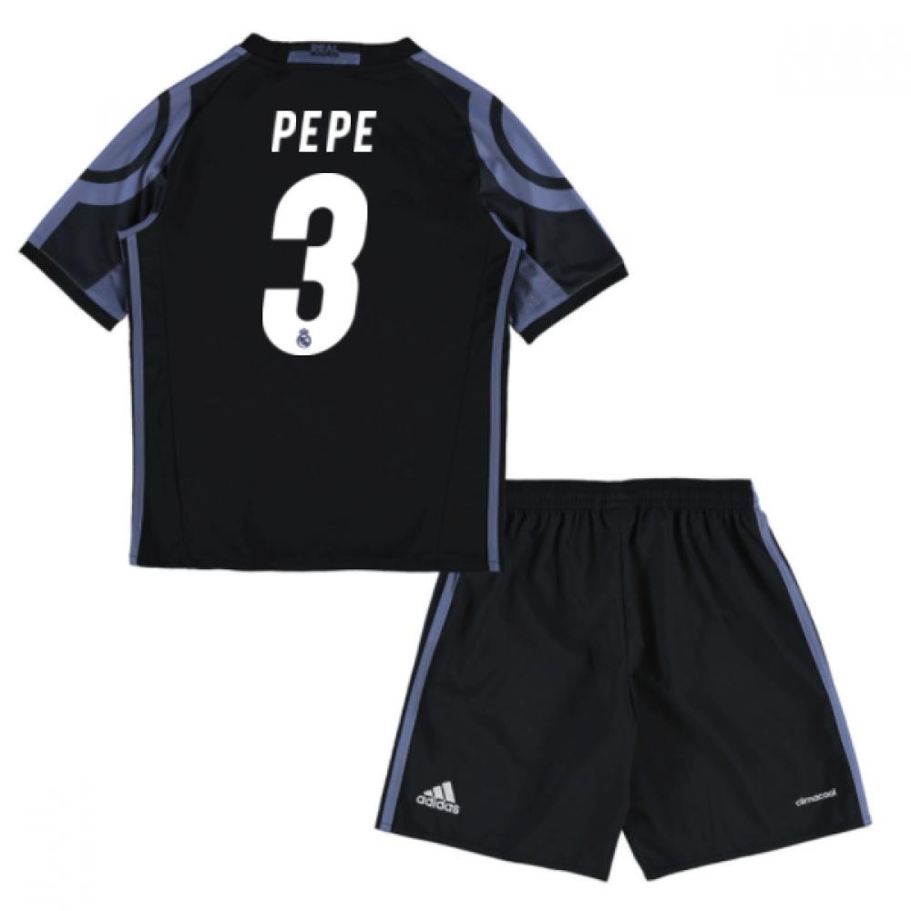 2016-17 Real Madrid Third Mini Kit (Pepe 3)