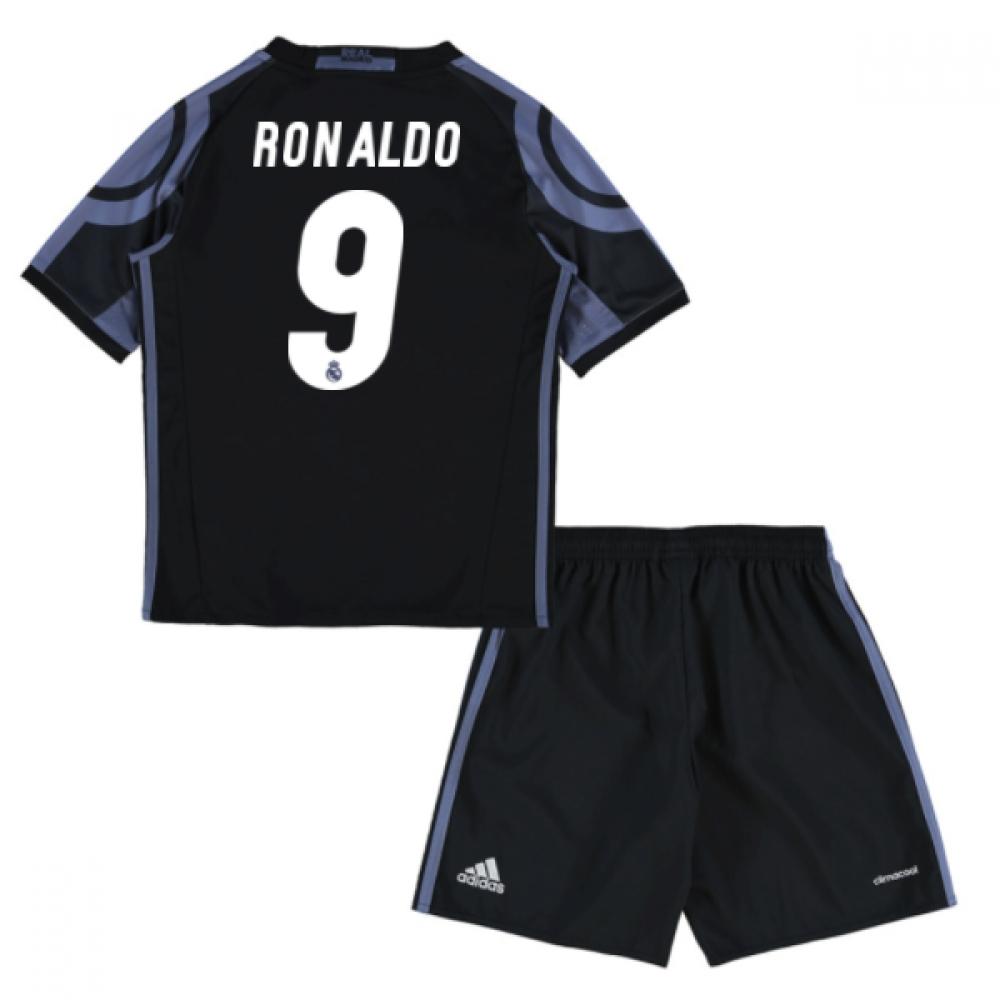 2016-17 Real Madrid Third Mini Kit (Ronaldo 9)