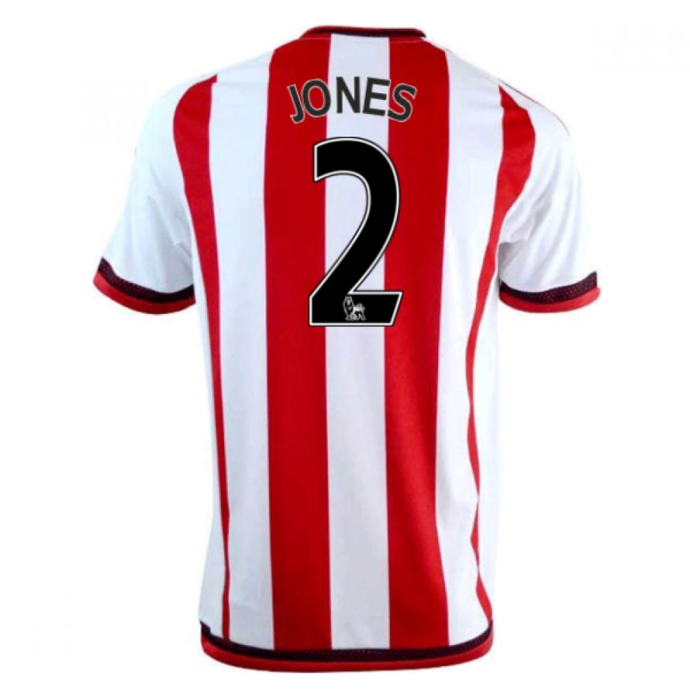 2016-17 Sunderland Home Shirt (Jones 2)