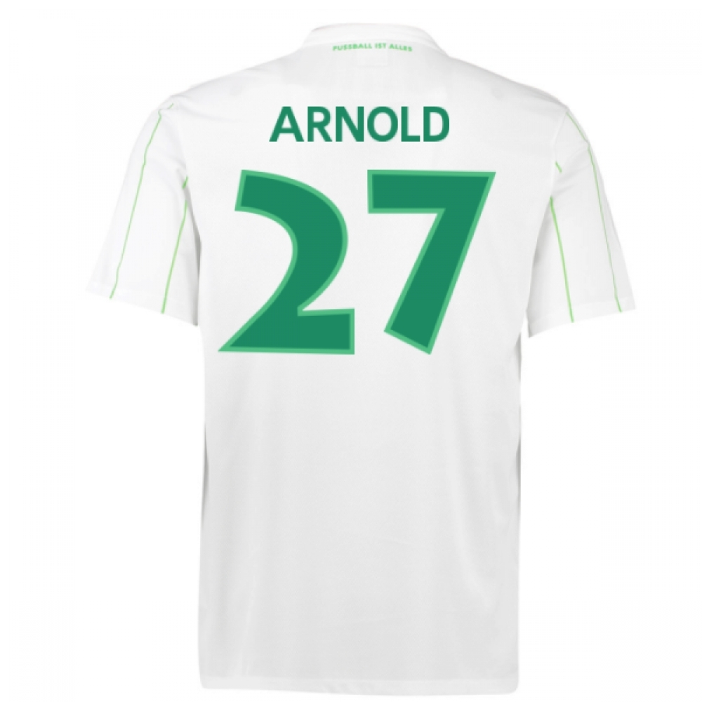 2016-17 Vfl Wolfsburg Away Shirt (Arnold 27)