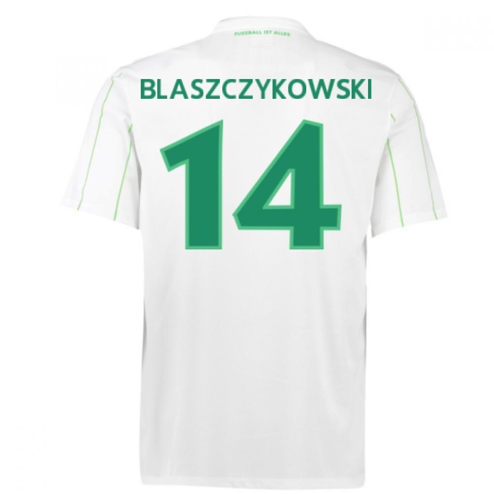 2016-17 Vfl Wolfsburg Away Shirt (Blaszczykowski 14) - Kids