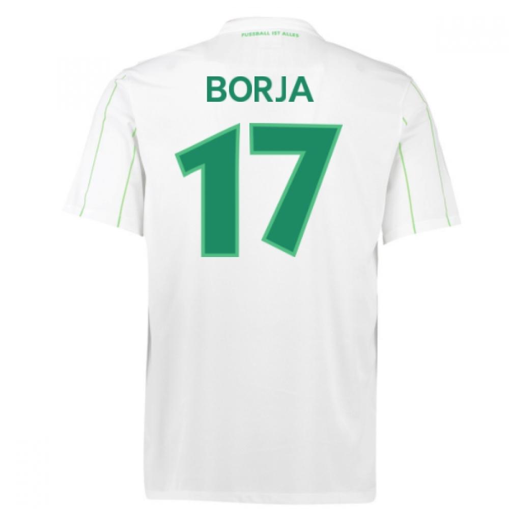 2016-17 Vfl Wolfsburg Away Shirt (Borja 17)