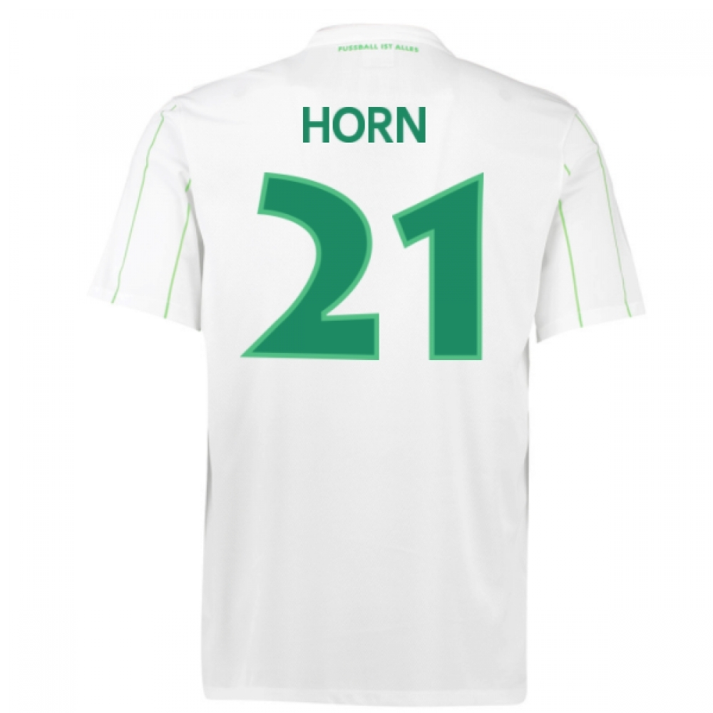 2016-17 Vfl Wolfsburg Away Shirt (Horn 21)