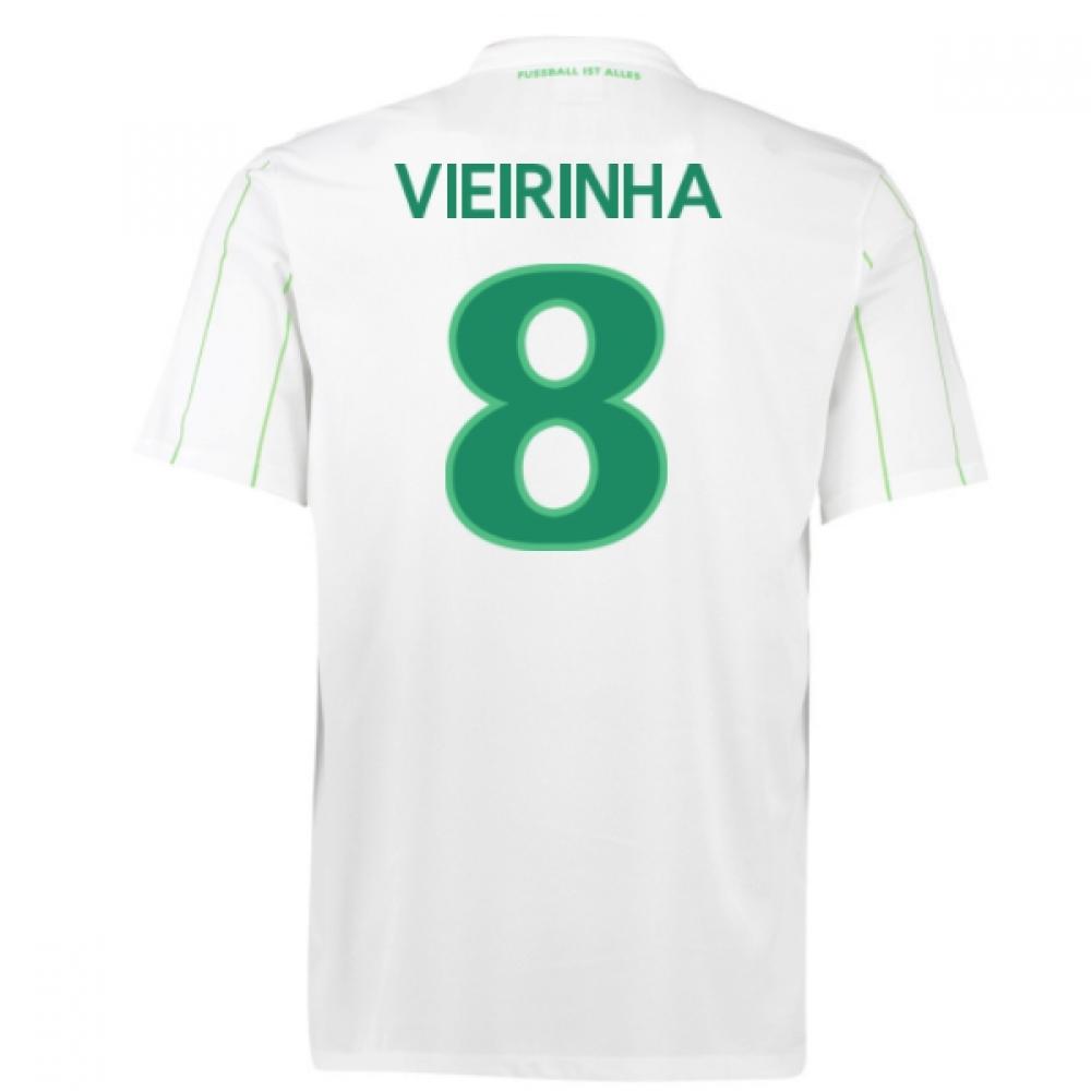 2016-17 Vfl Wolfsburg Away Shirt (Vieirinha 8)