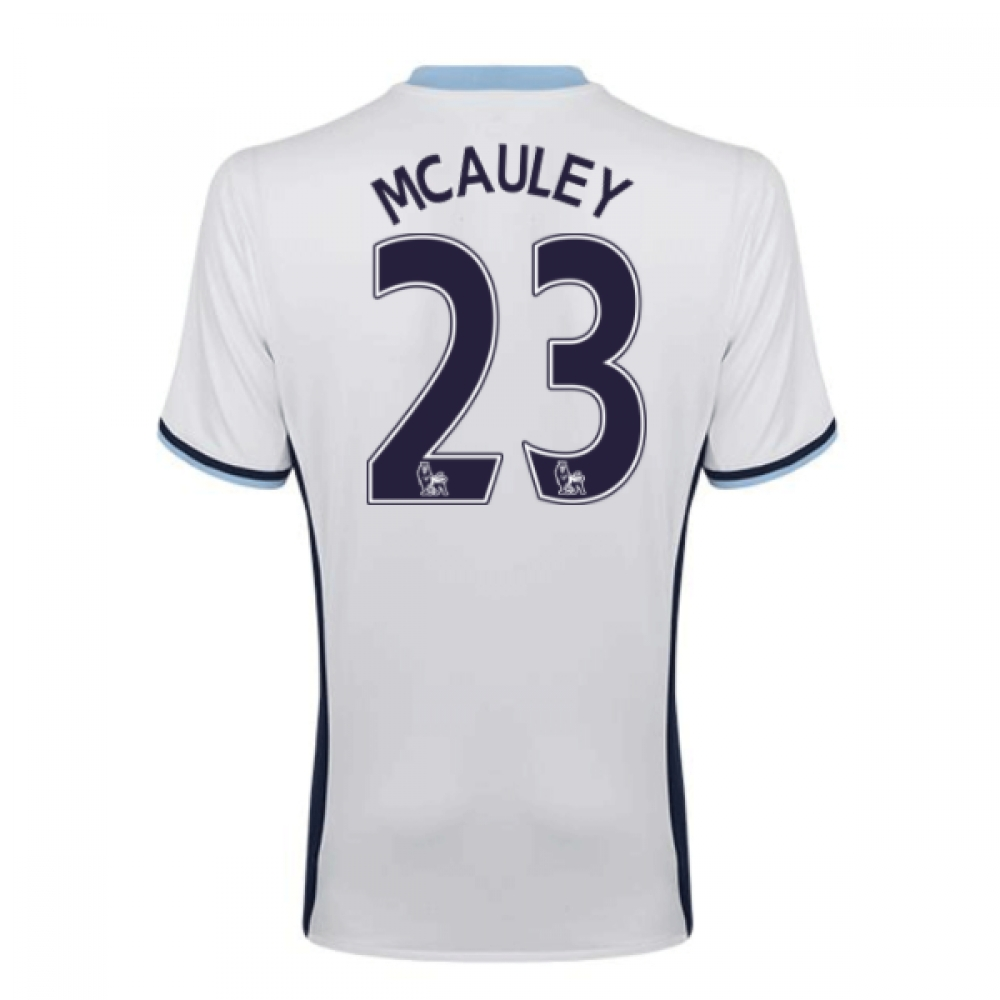 2016-17 West Brom Albion Home Shirt (MCAuley 23)