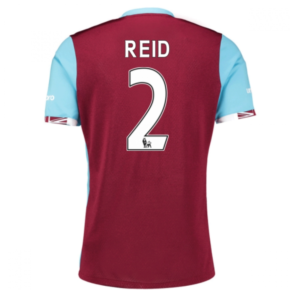 2016-17 West Ham Home Shirt (Reid 2) - Kids
