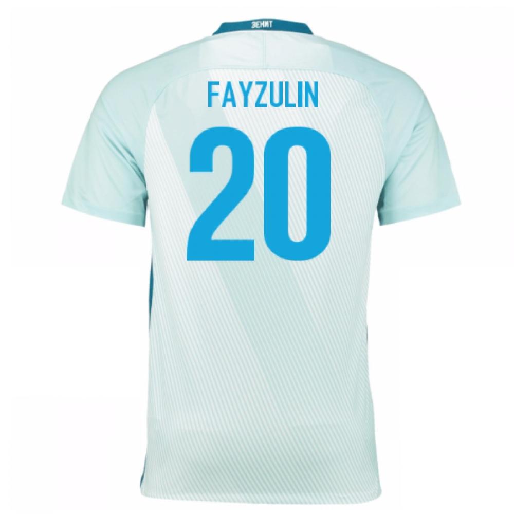 2016-17 Zenit St Petersburg Away Shirt - (Kids) (Fayzulin 20)