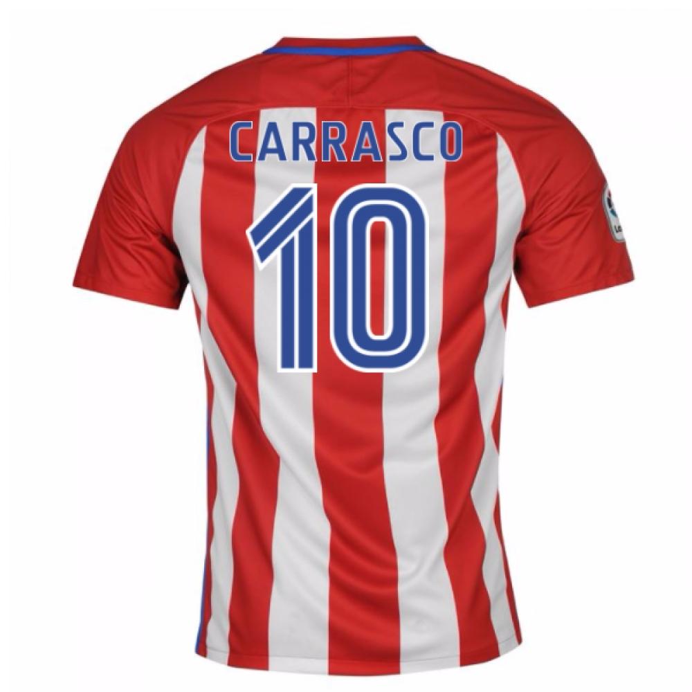 2016-17 Atletico Madrid Home Shirt (Carrasco 10) - Kids