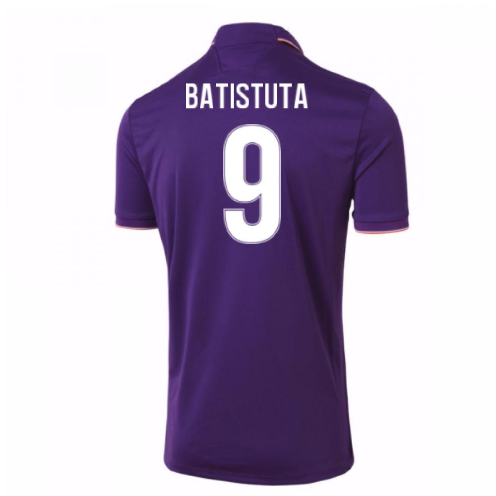 2016-17 Fiorentina Home Shirt (Batistuta 9)