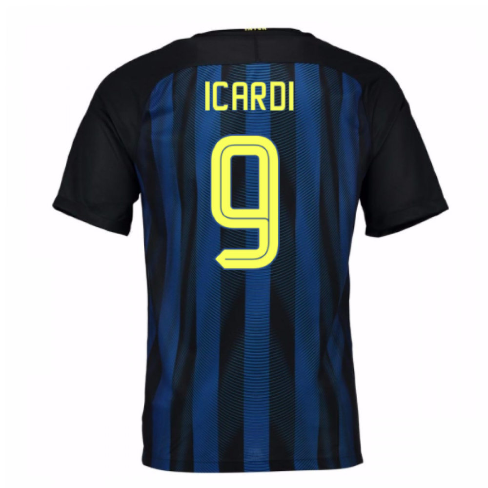 2016-17 Inter Milan Home Shirt (Icardi 9)
