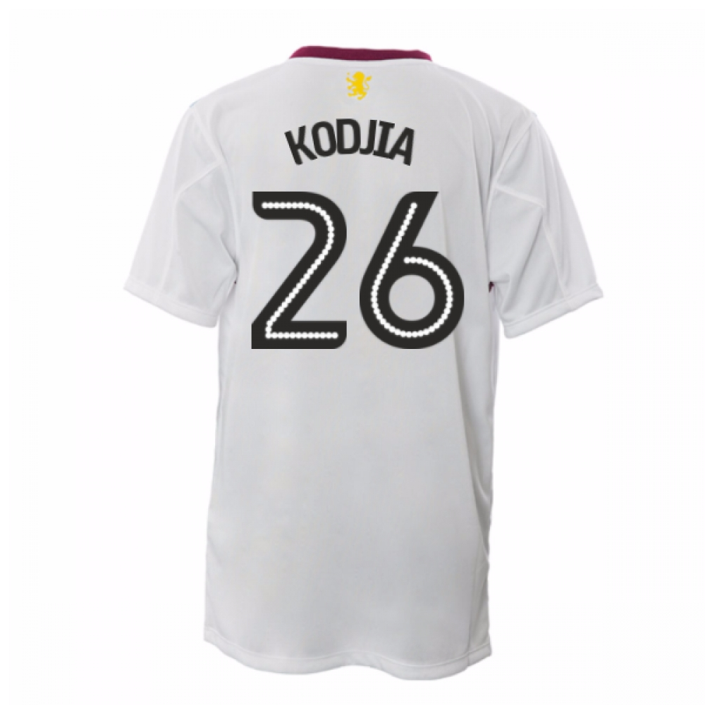 2016-17 Aston Villa Away Shirt (Kodjia 26)