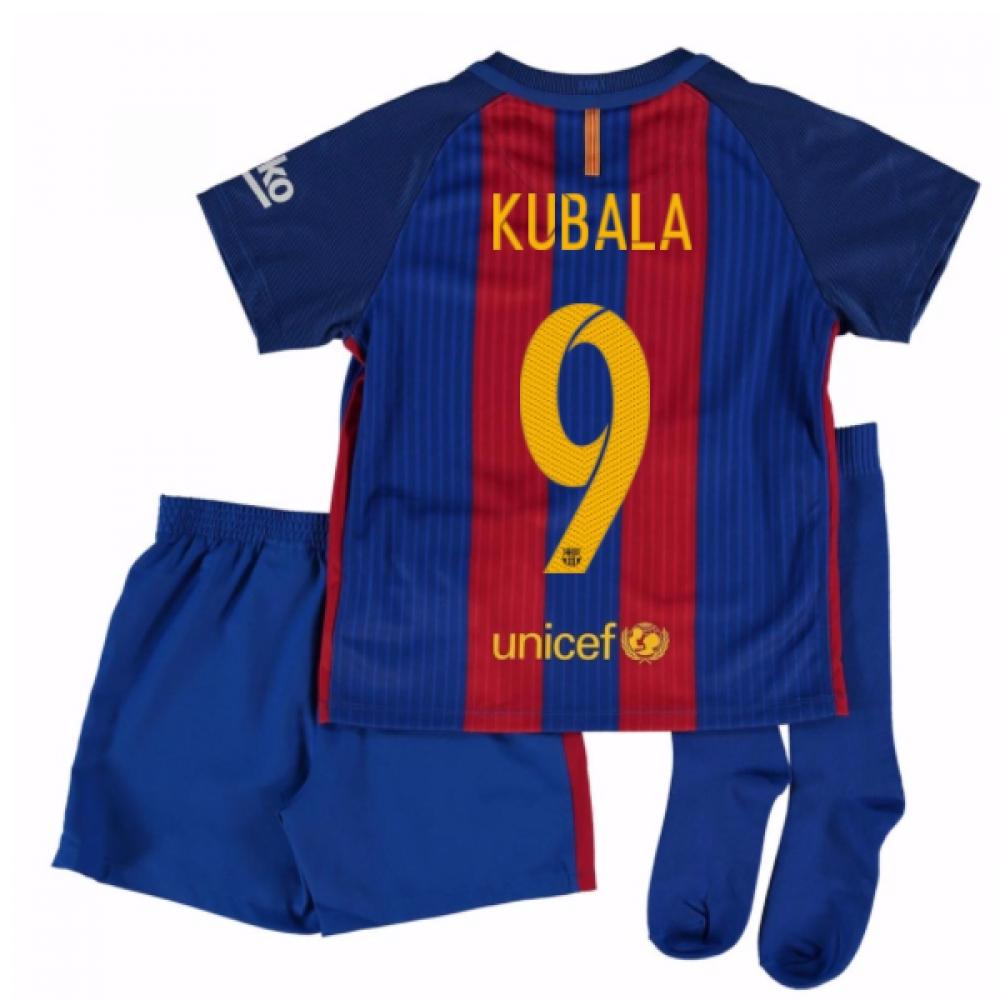 2016-17 Barcelona Home Mini Kit Shirt (Kubala 9)