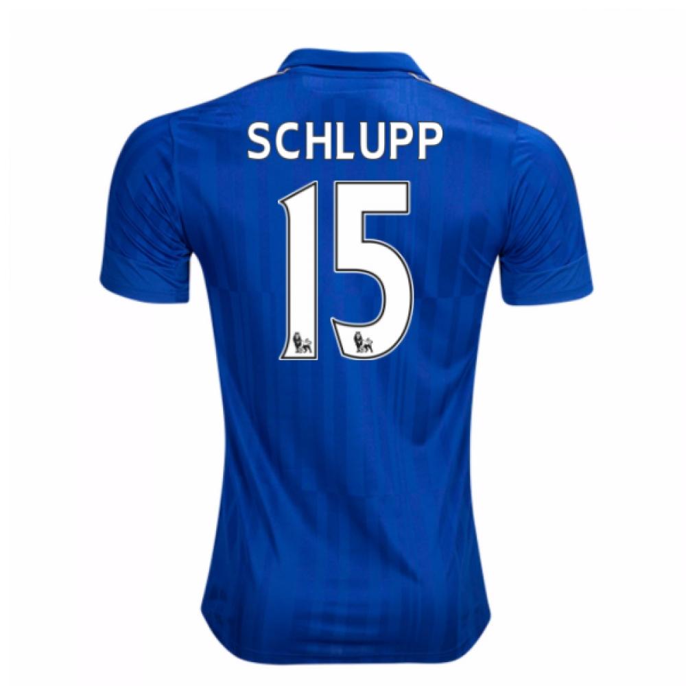 2016-17 Leicester City Home Shirt (Schlupp 15)