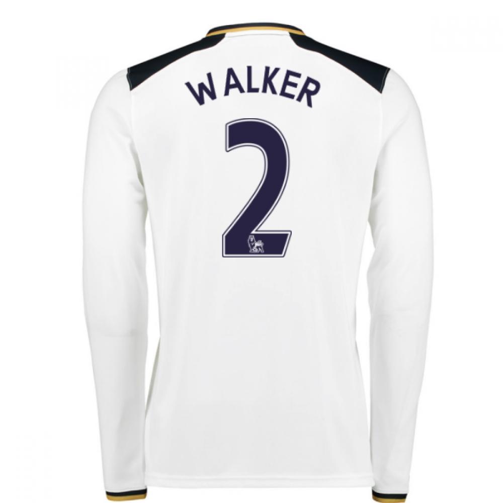 2016-17 Tottenham Home Long Sleeve Shirt (Walker 2)
