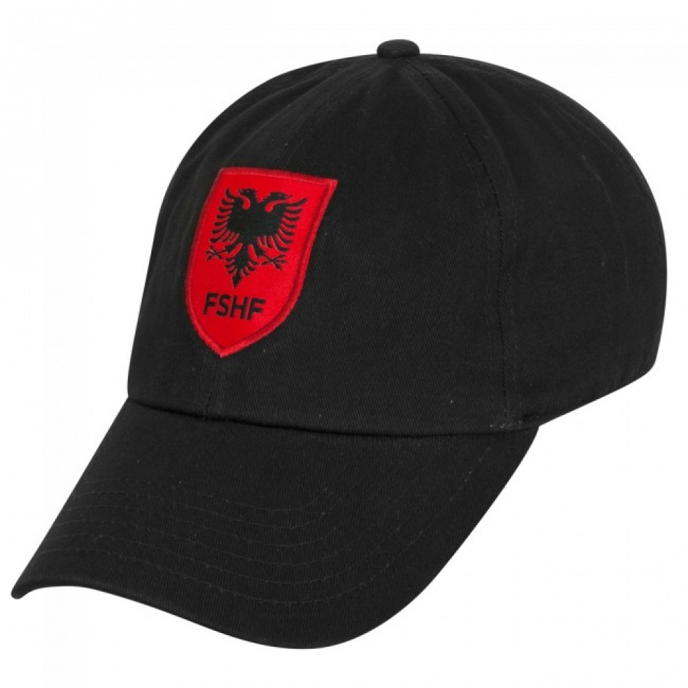 2016-2017 Albania Macron Baseball Cap (Black)