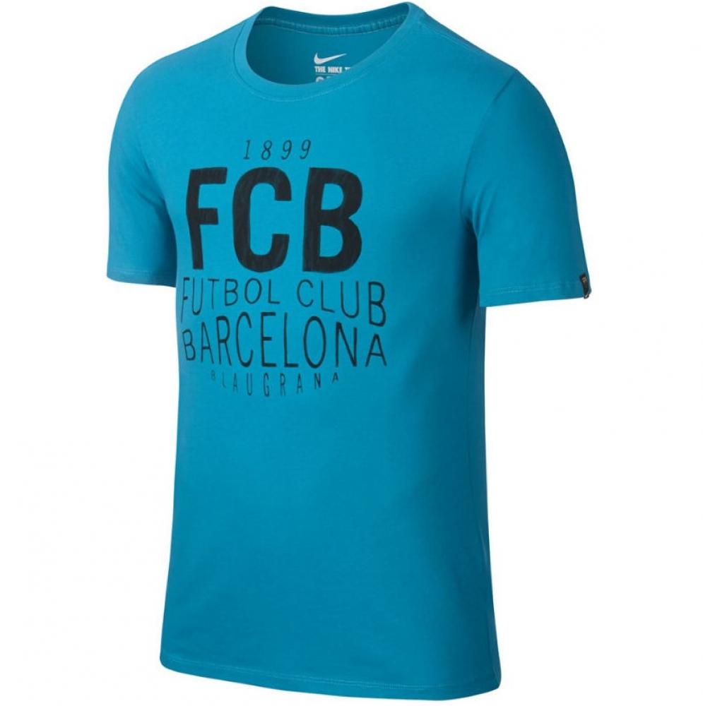 2016-2017 Barcelona Nike Squad Tee (Energy)