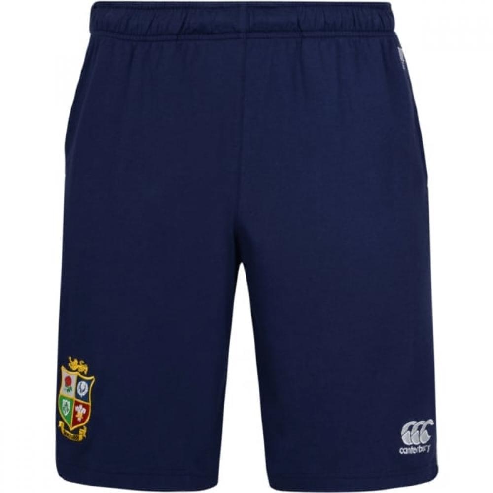 2016-2017 British Irish Lions Rugby Fleece Shorts (Peacot)