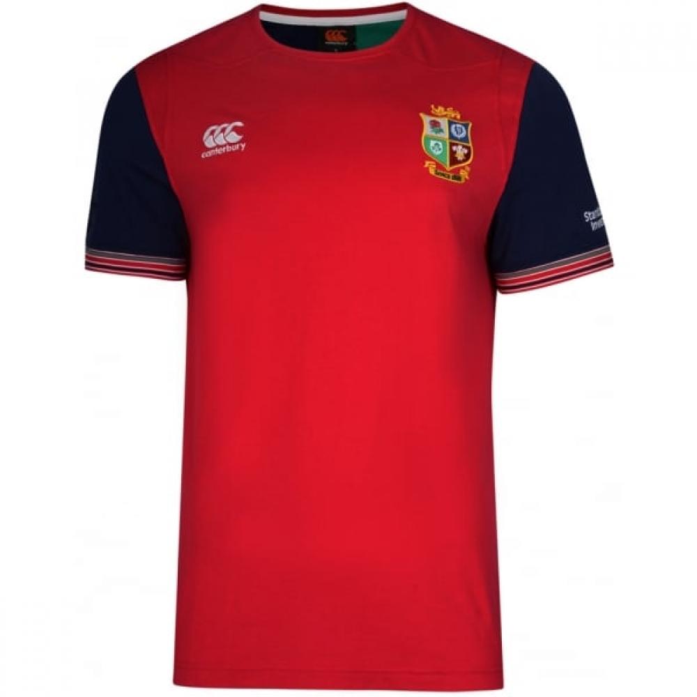 2016-2017 British Irish Lions Rugby Cotton Training Tee (Red) - Kids
