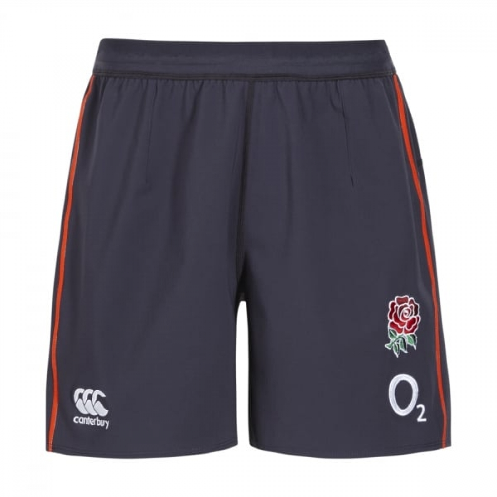 2016-2017 England Rugby Training Shorts (Graphite)