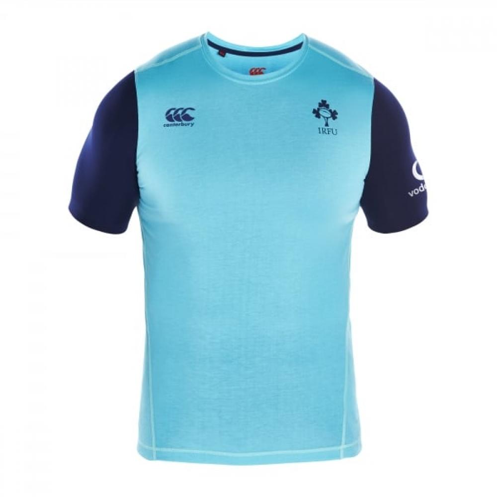 2016-2017 Ireland Rugby Elite Training Tee (Spearmint)