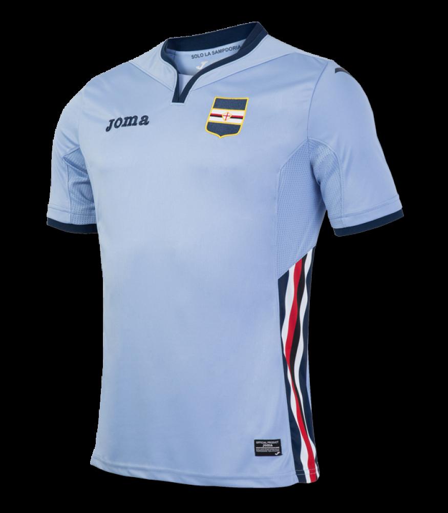 2016-2017 Sampdoria Joma Third Football Shirt